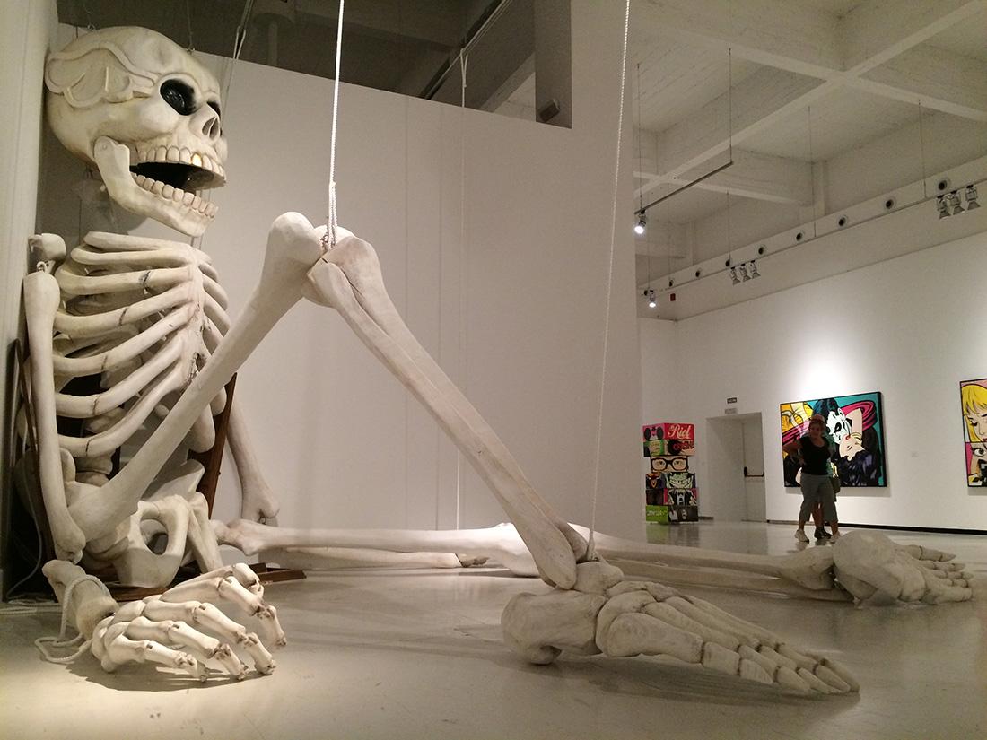 Skeleton Commission for D*Face