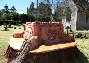 Queens Jubilee Commemorative bench