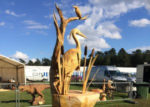 Heron sculpture England vs germany 2016