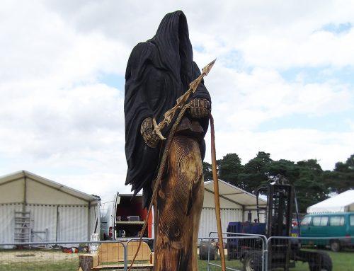 Ring Wraith Scuplture