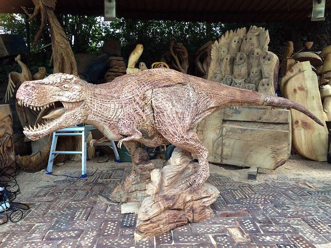 Tyrannosaurus Rex Sculpture
